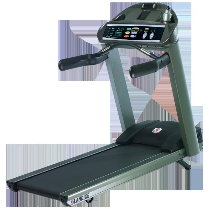 Landice L8 Treadmill with Pro Trainer Control Panel (Orthopedic Belt)