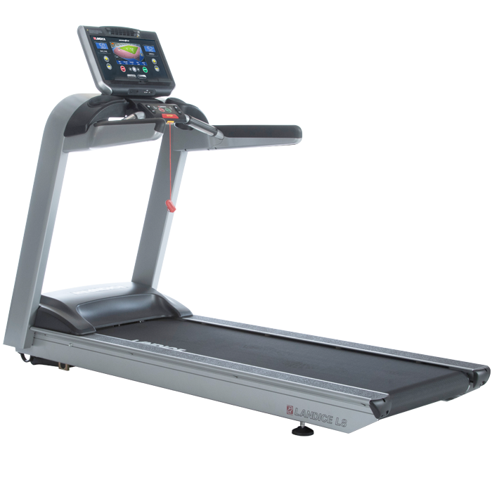 Landice L8 Treadmill with Executive Control Panel (Orthopedic Belt)