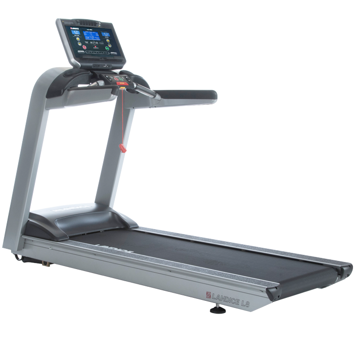 NEW Landice L8 Treadmill with Cardio Trainer Control Panel