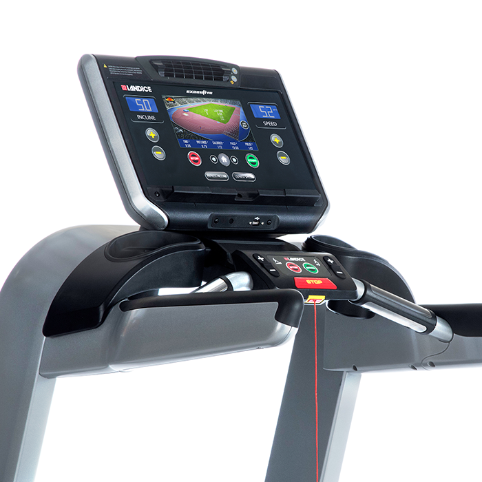 Landice Treadmill with Executive Console