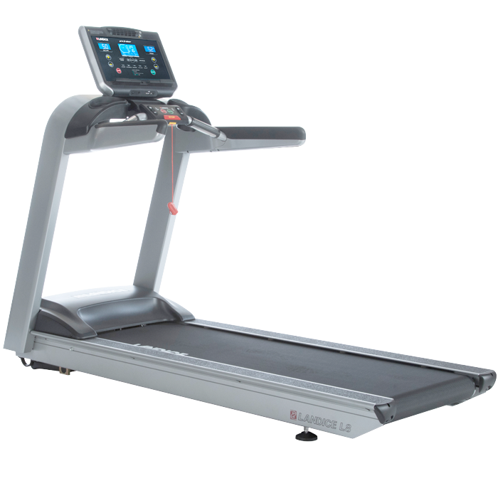 NEW Landice L8 LTD Treadmill with Pro Trainer Control Panel