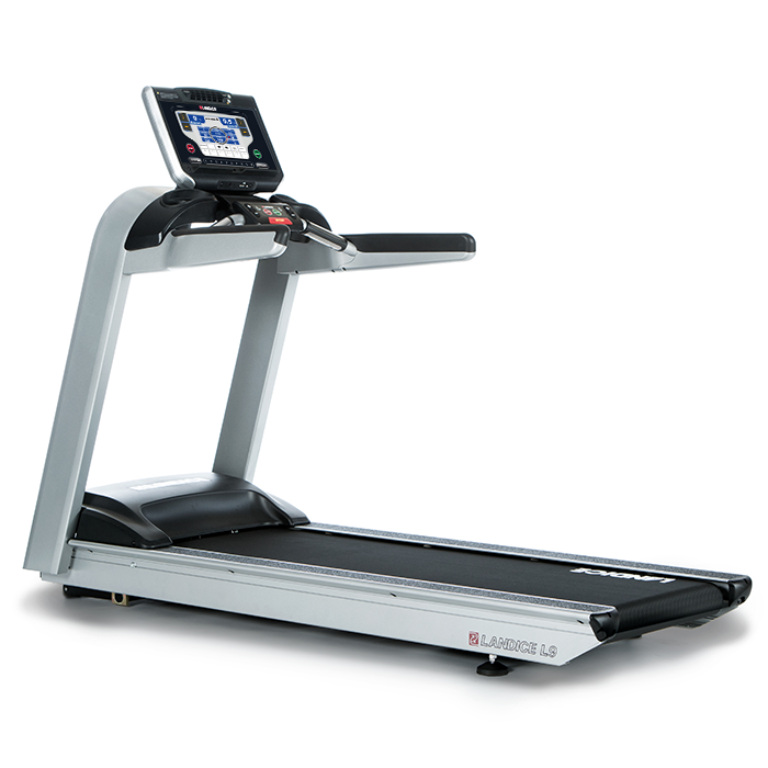 Landice L9 Club Treadmill with Pro Sport Control Panel