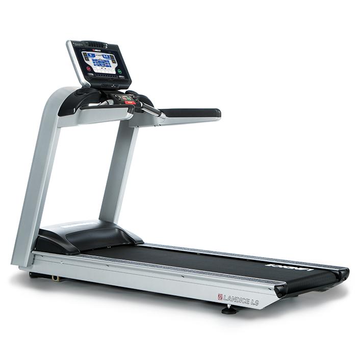 Landice L9 Club Treadmill with Pro Sport Control Panel