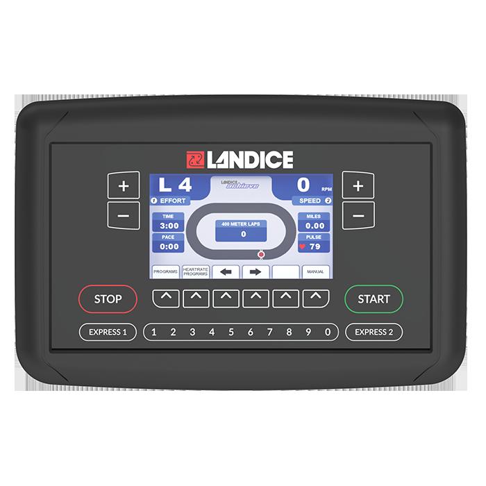 Landice E7 Elliptical with Achieve Console