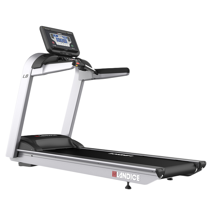 Landice L8 Treadmill with Pro Sports Control Panel (Orthopedic Belt)