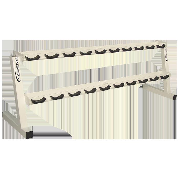 Ten Pair Pro Style Dumbbell Rack