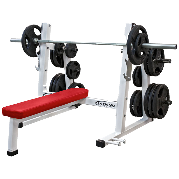 Legend Pro Series Olympic Flat Bench