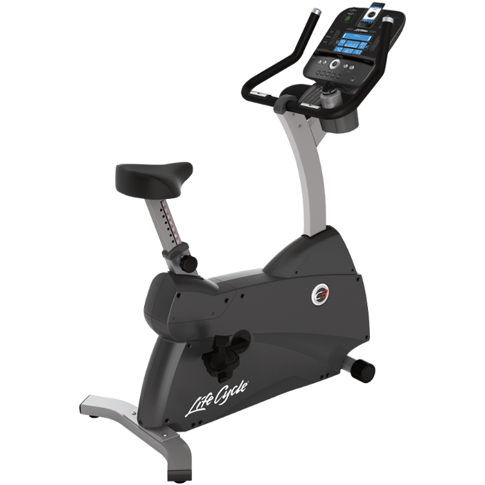 Life Fitness C3 Upright LifeCycle with Track+ Console - Floor Model