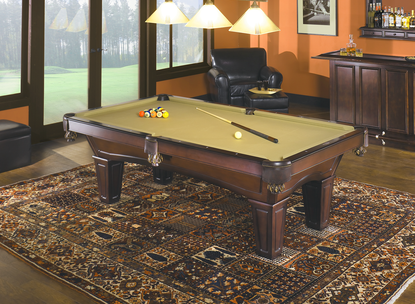 Brunswick Contender Allenton 7' Pool Table