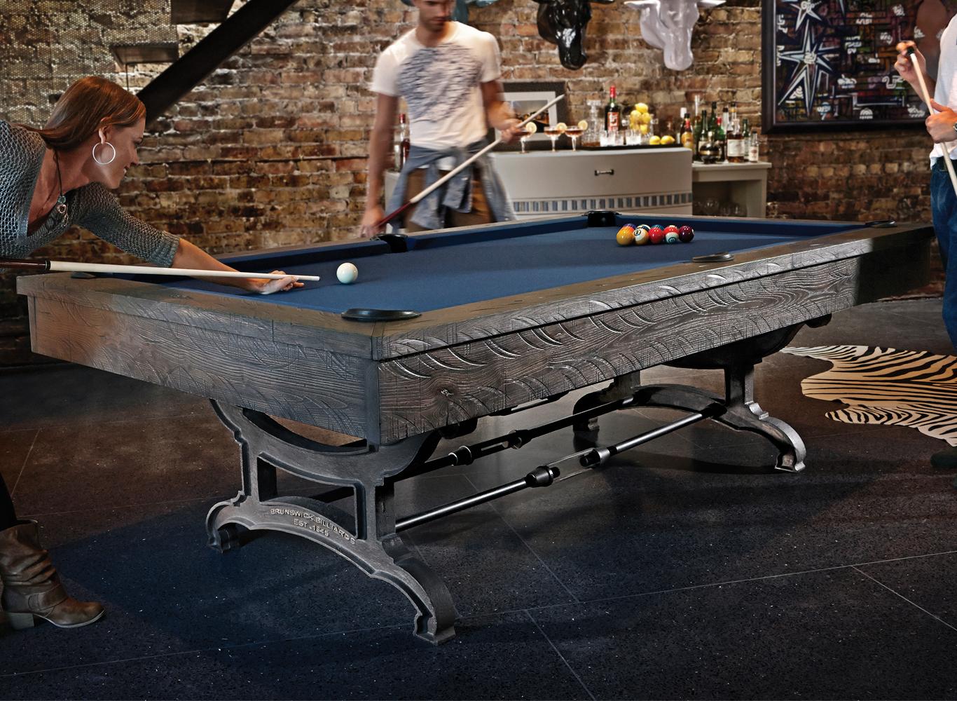 Brunswick Birmingham 9u0027 Pool Table