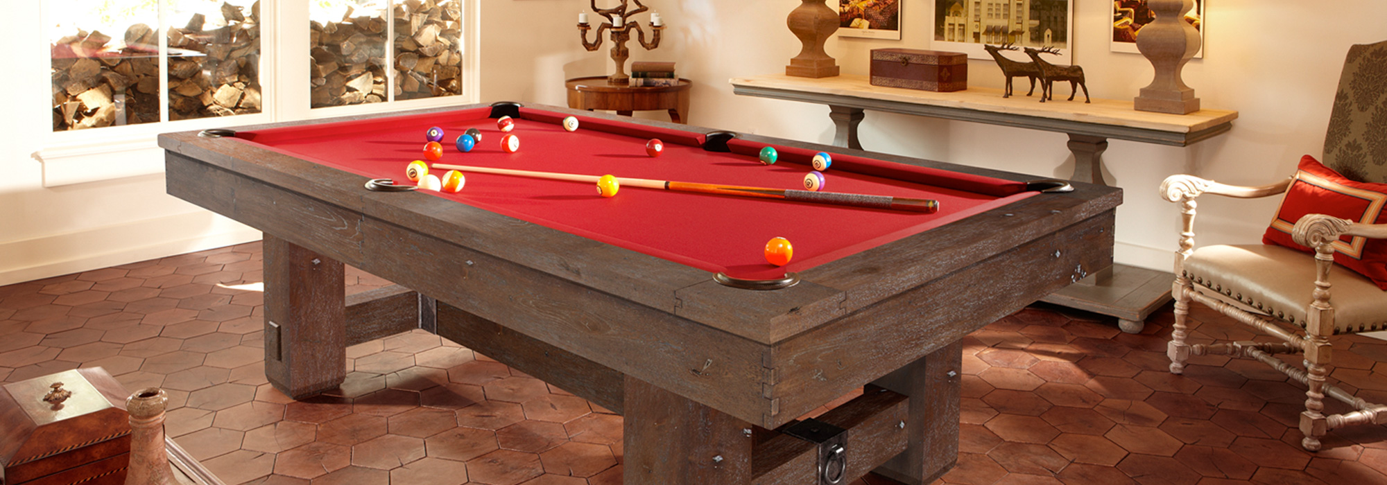 Brunswick 9 ft Pool Tables
