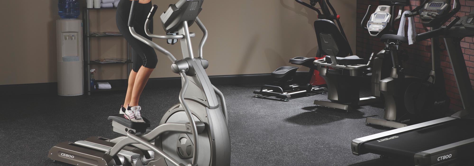 Spirit Commercial Ellipticals