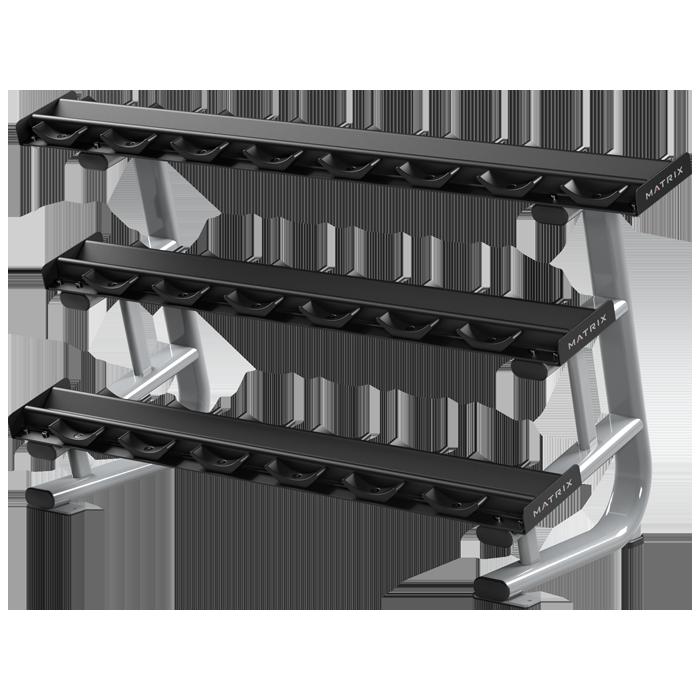 Matrix Magnum 10-Pair Studio Pro-Style Dumbbell Rack