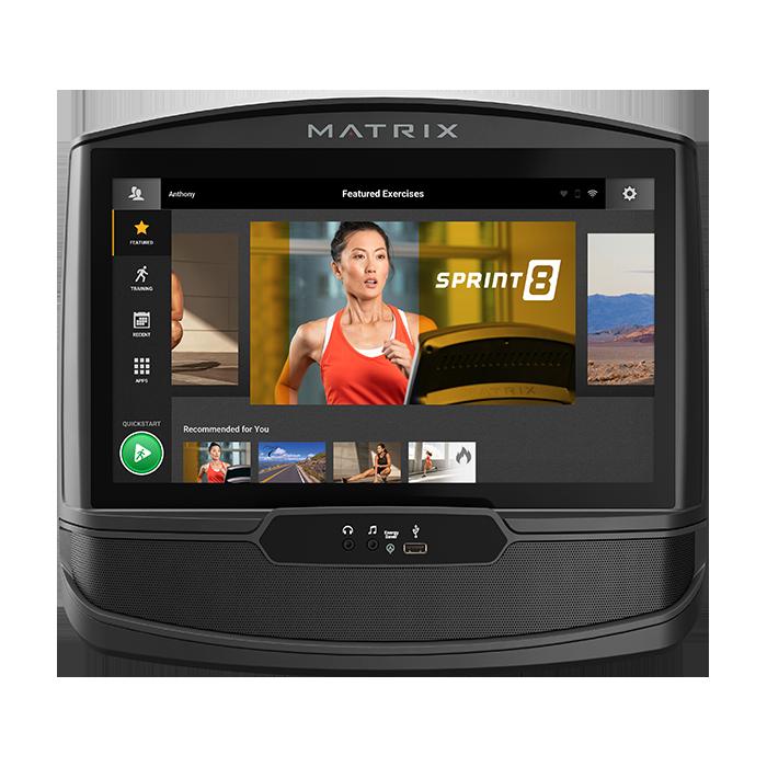 Matrix E50 Elliptical with XIR Console - 2021 Model
