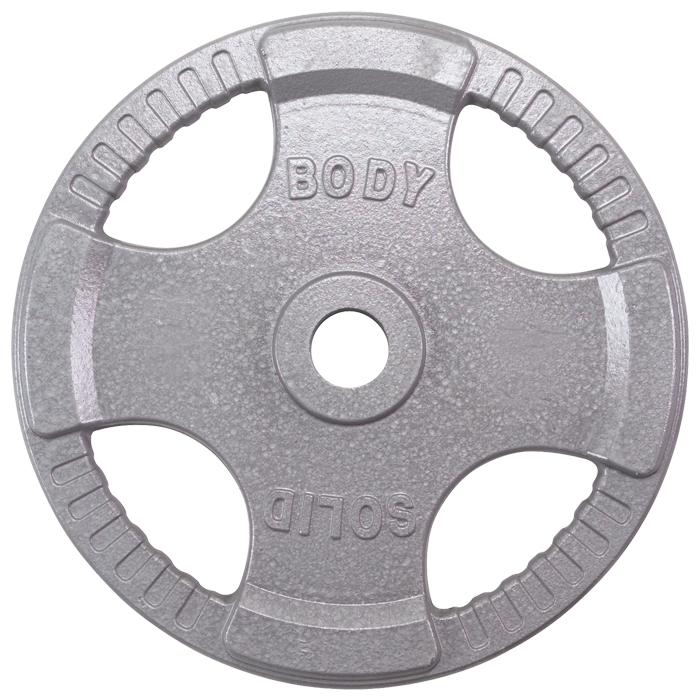 Body-Solid Steel Grip Olympic Plates - 10 Lb.