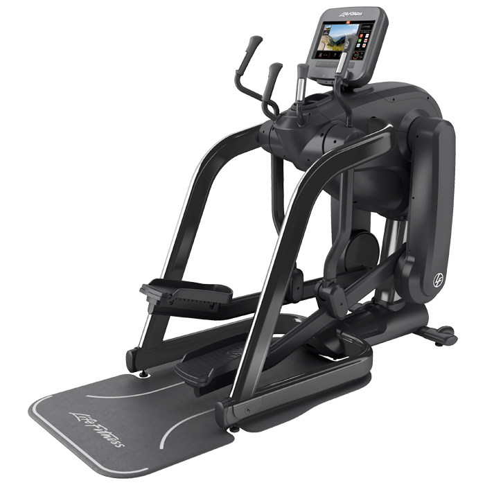 Life Fitness Platinum Club Series FlexStrider Variable-Stride Trainer with 16 inch Discover™ SE3 Console