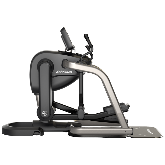 Life Fitness Platinum Club Series FlexStrider Variable-Stride Trainer with 10 inch Discover SI Console
