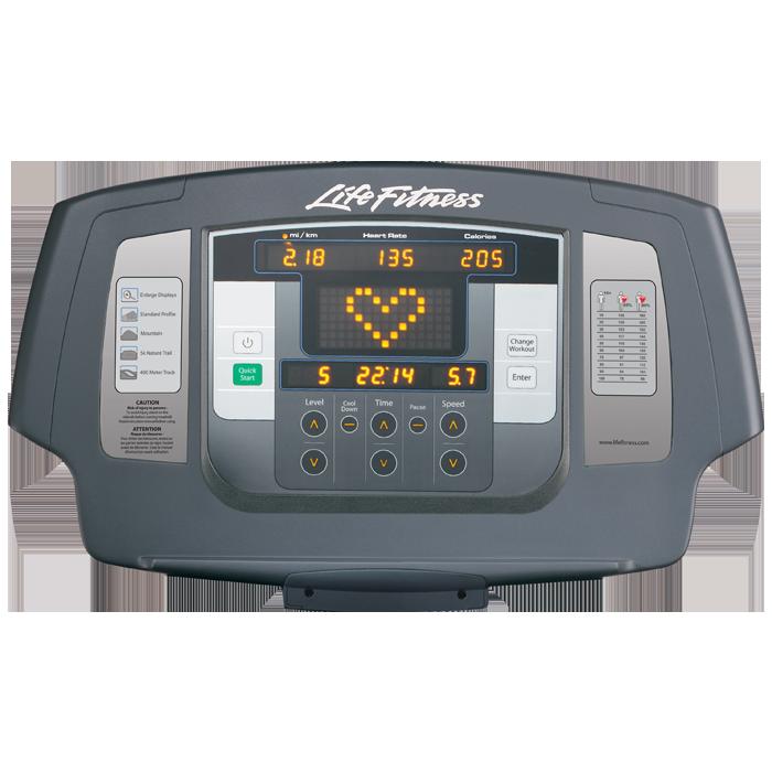 Life Fitness Platinum Club Achieve Console