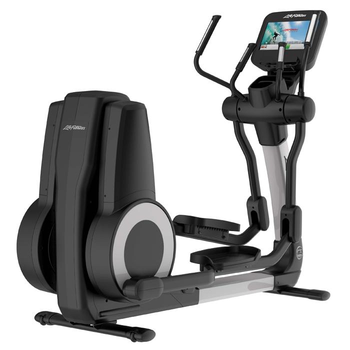 elliptical machine with tv screen