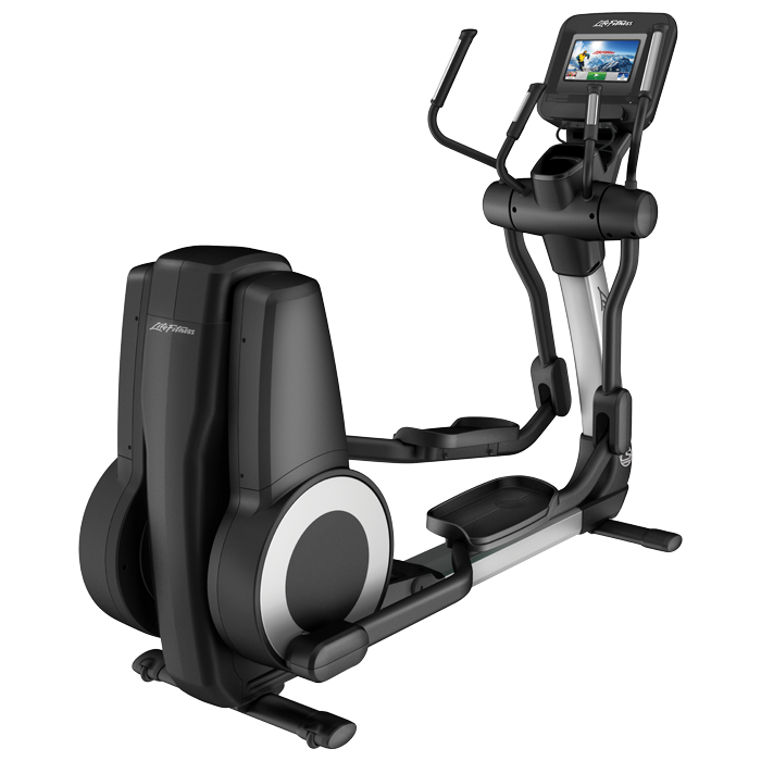 Life Fitness Platinum Club Series Elliptical with 10 inch Discover SI Tablet Console