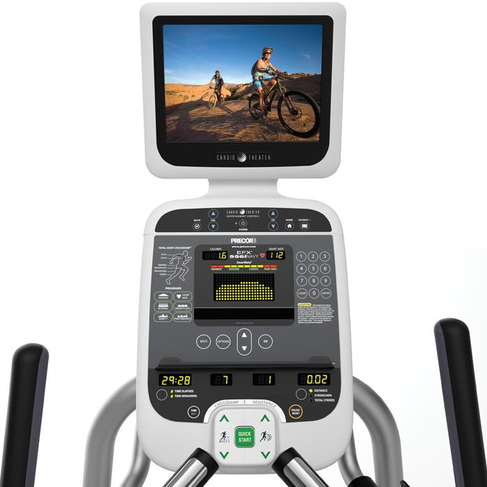 Precor EFX 532i Elliptical Fitness Crosstrainer