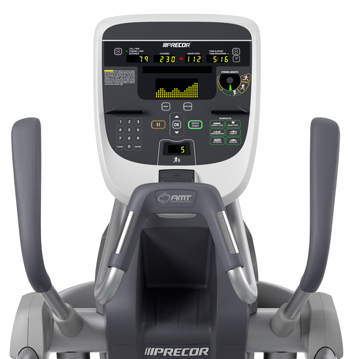 Precor AMT 833 with Fixed Height Adaptive Motion Trainer