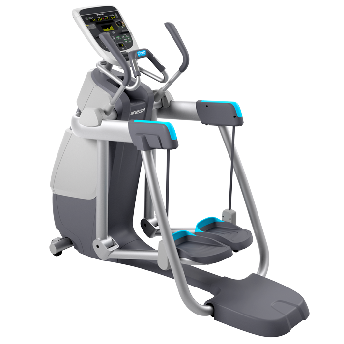 Precor AMT 835 with Open Stride Adaptive Motion Trainer - Floor Model