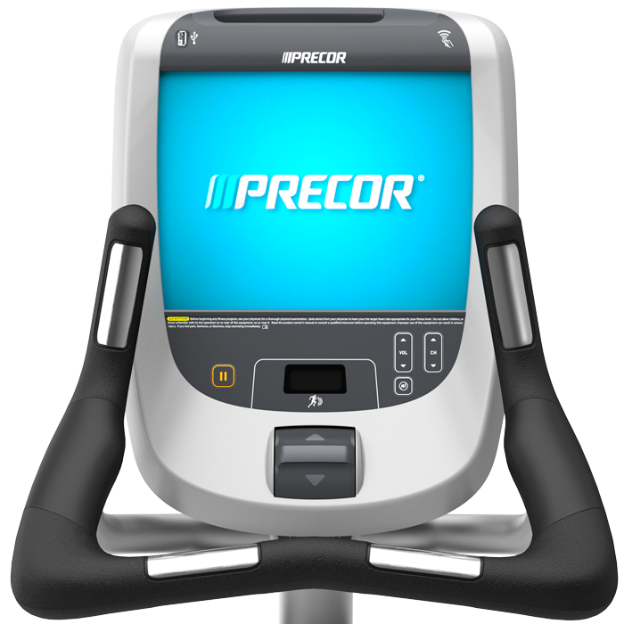 Precor UBK 885 Upright Cycle