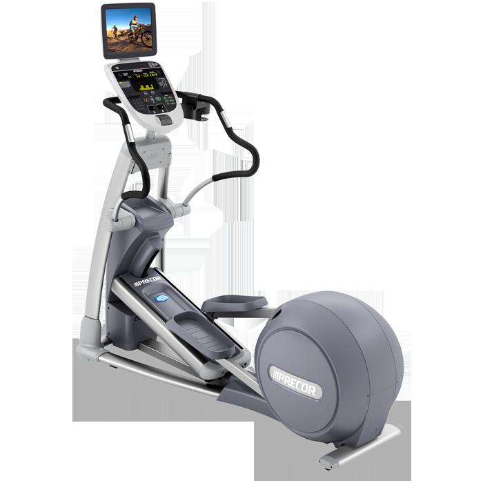 Precor EFX 833 Elliptical Fitness Crosstrainer