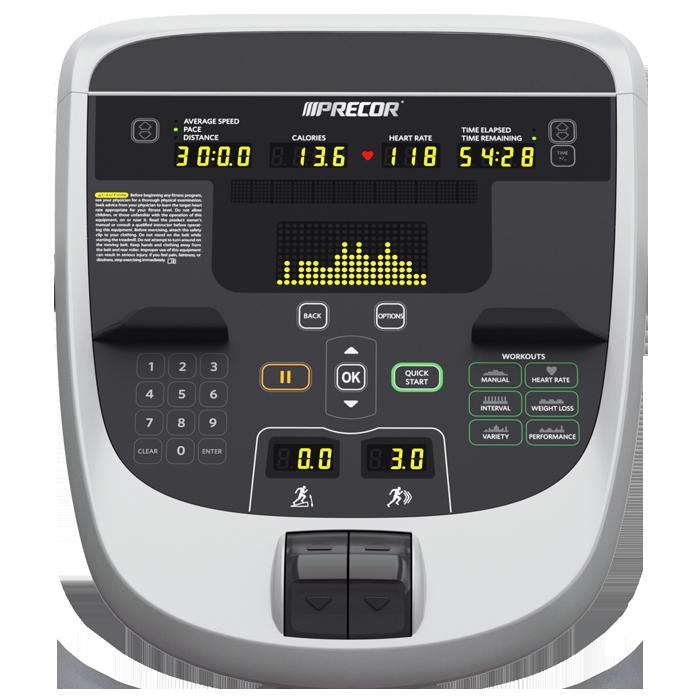 precor trm 833 treadmill precor trm 833 treadmill console