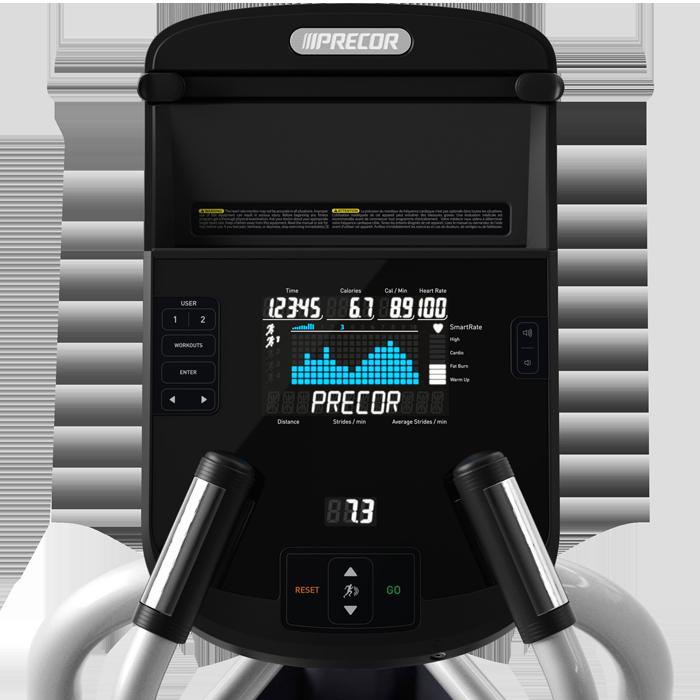 Precor EFX 222 Elliptical Fitness Crosstrainer
