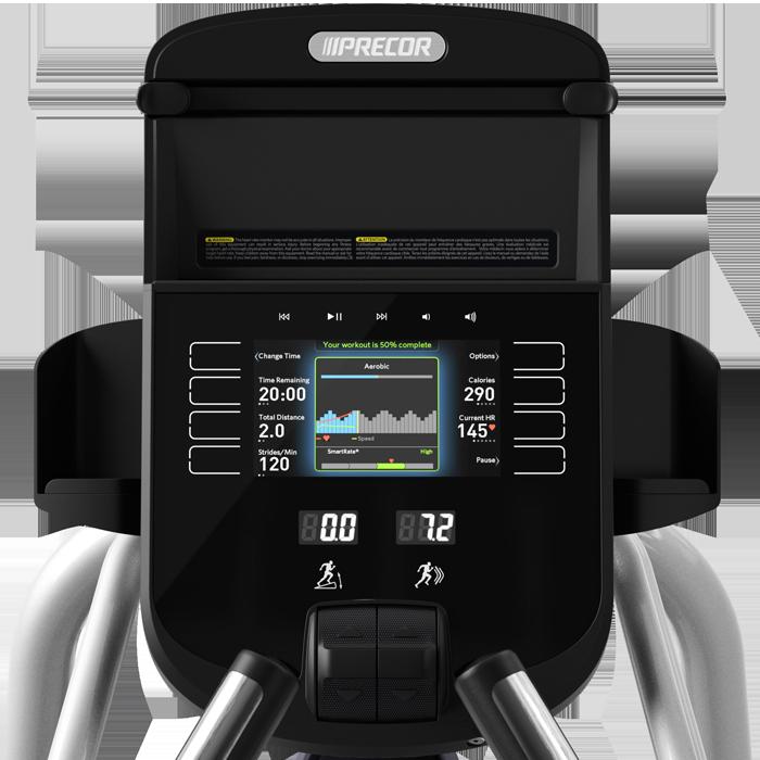 Precor EFX 447 Elliptical Fitness Crosstrainer - Floor Model