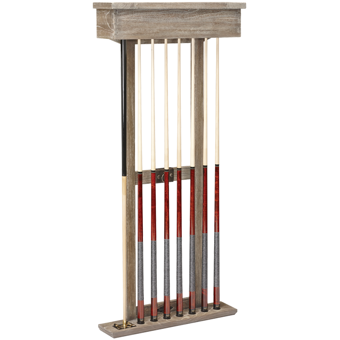 Brunswick Merrimack Cue Rack - Driftwood - DISCONTINUED - LIMITED SUPPLY