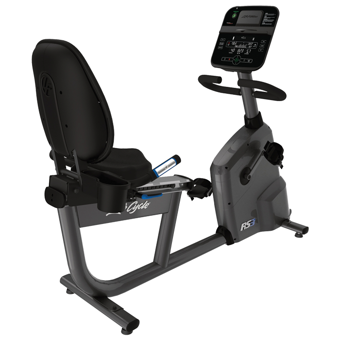 Life Fitness RS3 Recumbent LifeCycle with Track Connect