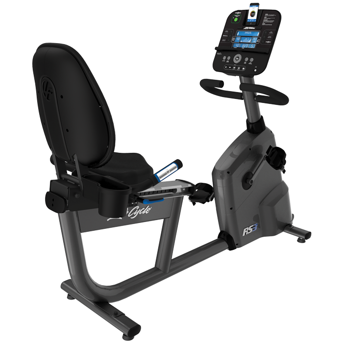 Life Fitness RS3 Recumbent LifeCycle with Track+ Console
