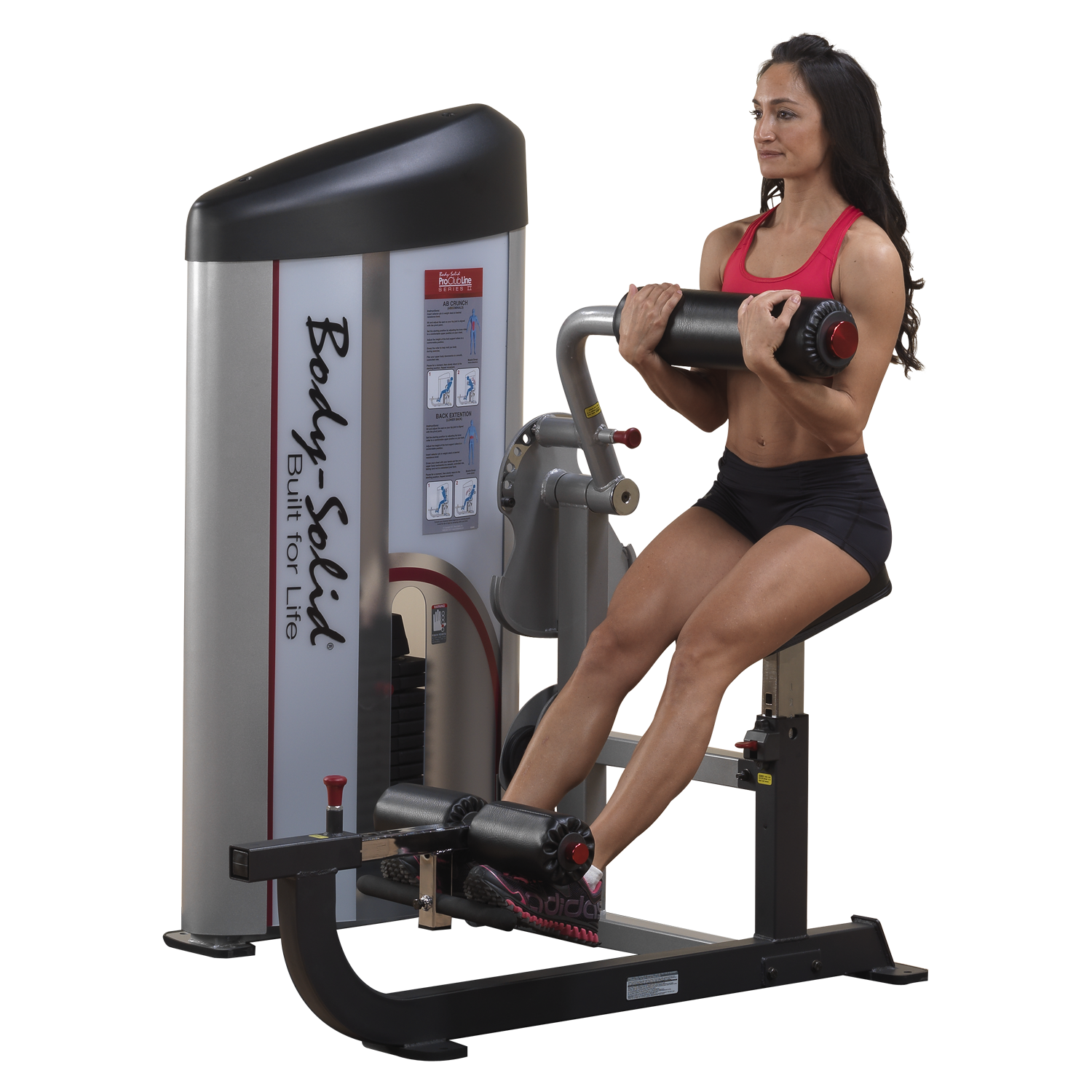 Body-Solid Pro Clubline Series II Ab and Back Machine
