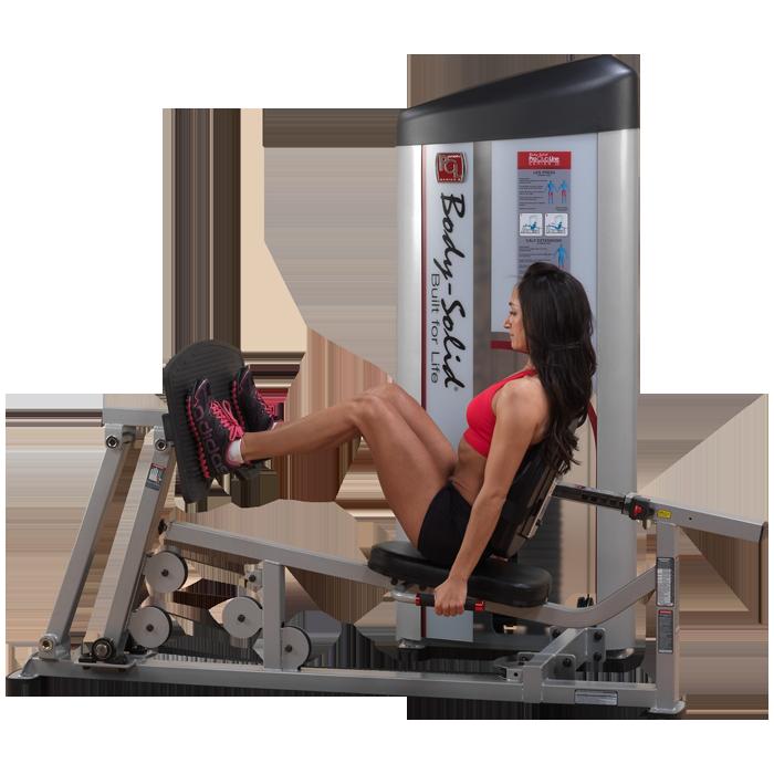 Body-Solid Pro Clubline Series II Leg Press Calf Raise
