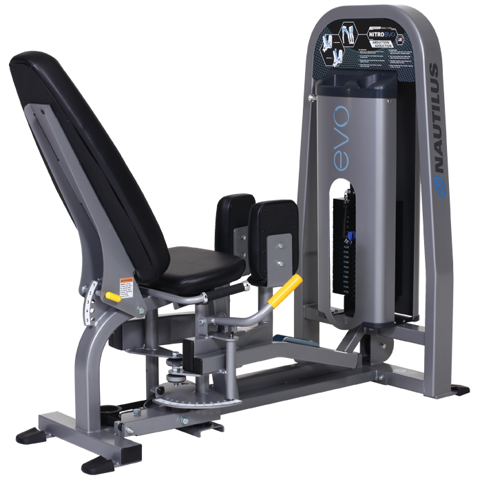 hip abduction and adduction machine