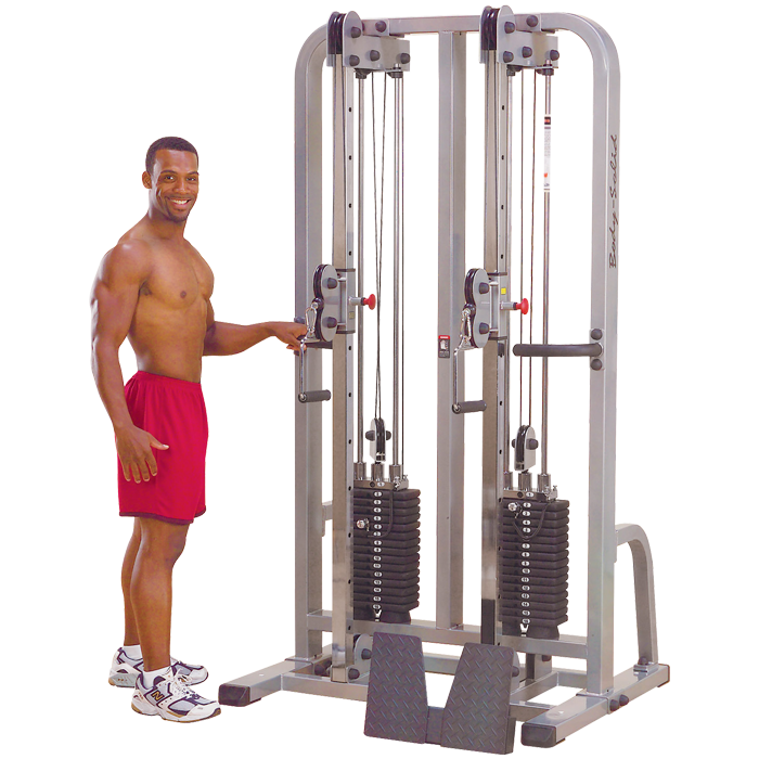 Body-Solid Pro Clubline Dual Cable Column