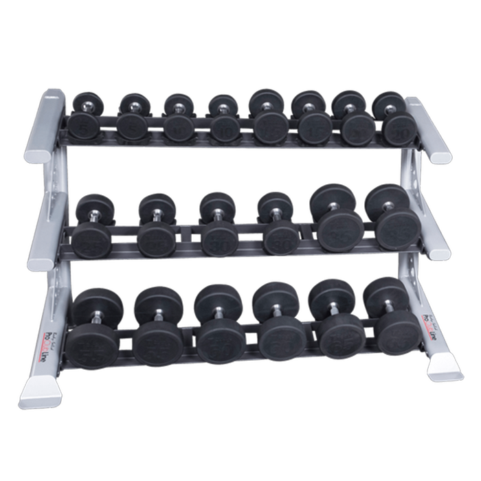 Body-Solid Pro Clubline Saddle Rack - Three Tier