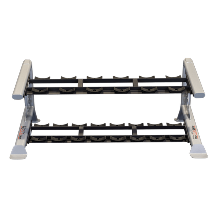 Body-Solid Pro Clubline Saddle Rack - Two Tier