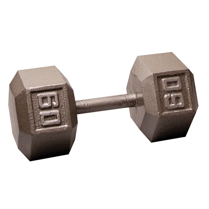 Body-Solid Cast Hex Dumbbell - 60 Lb.