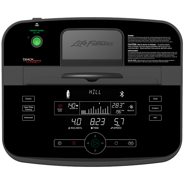 Life Fitness T3 Treadmill with Track Connect