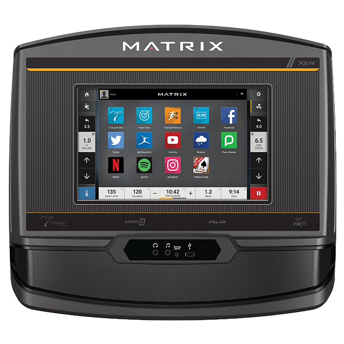 Matrix T75 Treadmill with XER Console