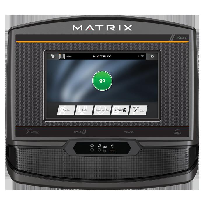 Matrix TF30 Folding Treadmill with XER Console