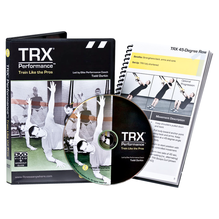 TRX Suspension Trainer DVD - TRX Performance: Train Like the Pros