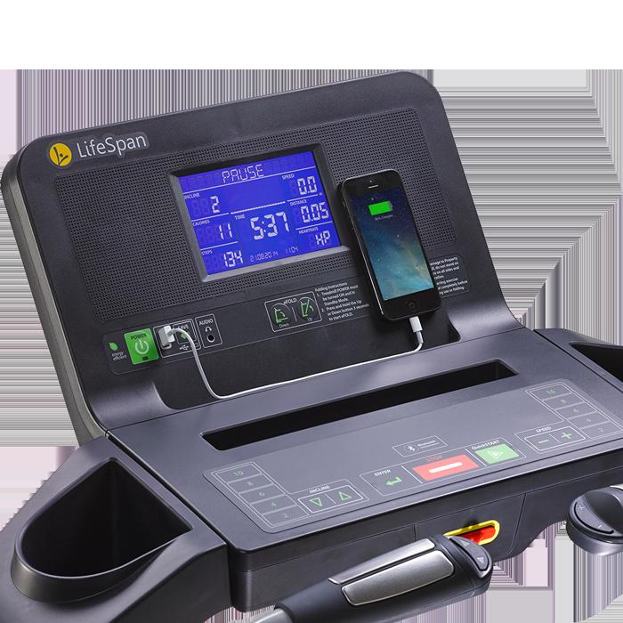 Lifespan TR2000e Electric Folding Treadmill