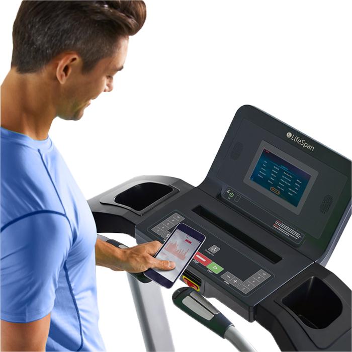LifeSpan TR4000i Folding Treadmill - Touch
