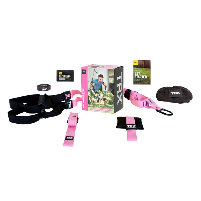 TRX Suspension Trainer Pink Home Pack