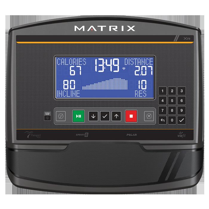 Matrix U30 Upright Bike with XR Console